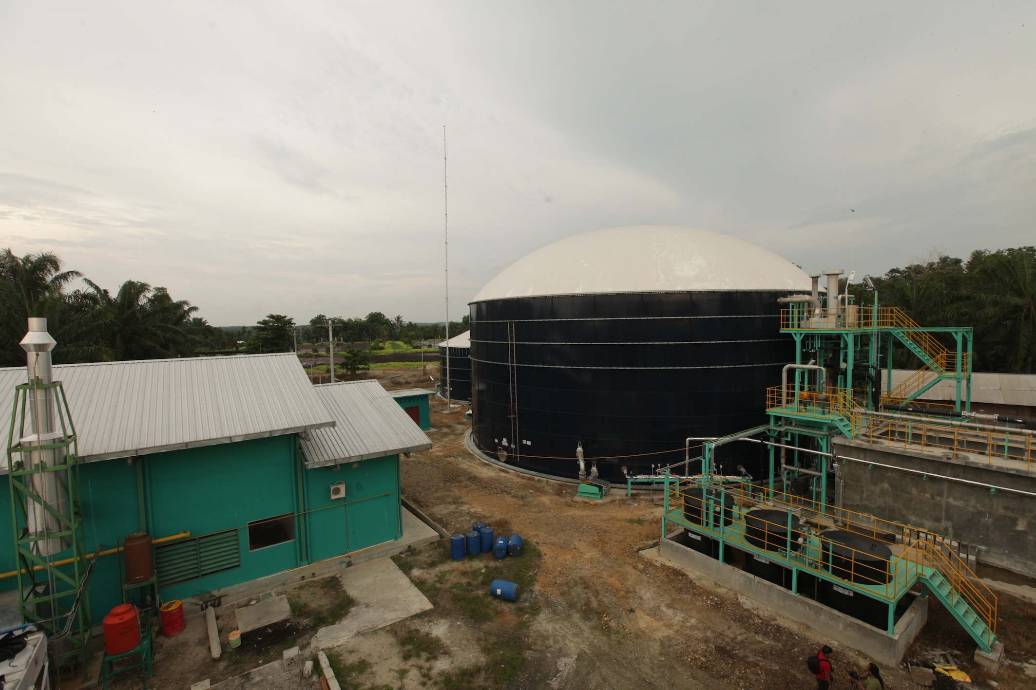 20150824 Asian Agris biogas plant in buatan riau